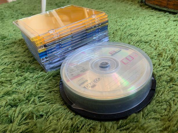 15 cds + 12 caixas (novos)