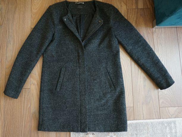 płaszcz 36 S wiosenny oversize vintage zara damski kardigan kurtka