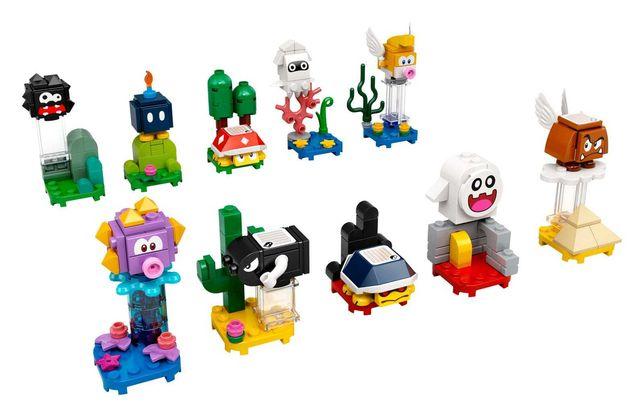 LEGO 71361   Coleção completa   Minifiguras Super Mario Série 1