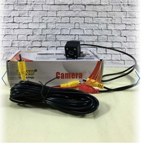 Камера заднего вида универсальная с подсветкой и разметкой