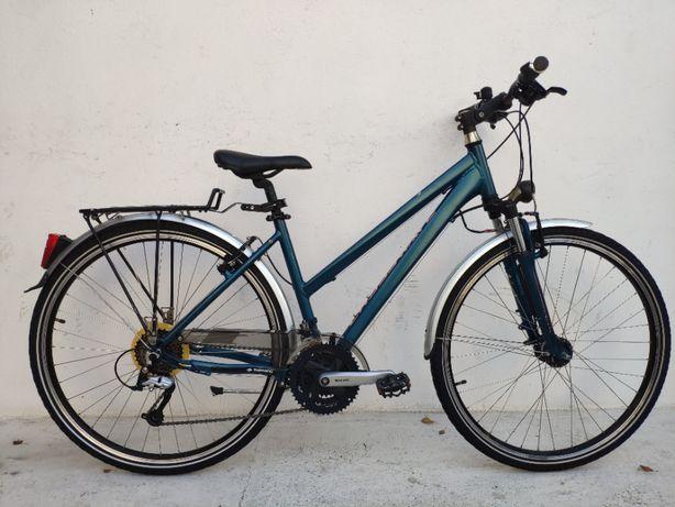 rower trekkingowy CROSSWAVE alu 18 koła 28 alivio pradnica serwis