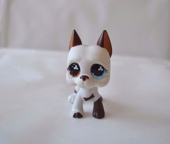 Littlest Pet Shop Lps Figurka Piesek Dog Niemiecki UNIKAT