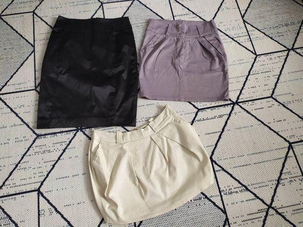 Okazja zestaw 3 spódnic w rozmiarze 34 i 36