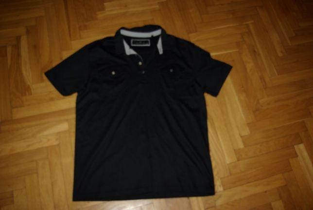 Koszulka polo NEXT Signature XL czarna