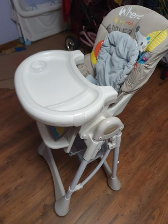 Baby Design Pepe krzesełko do karmienia