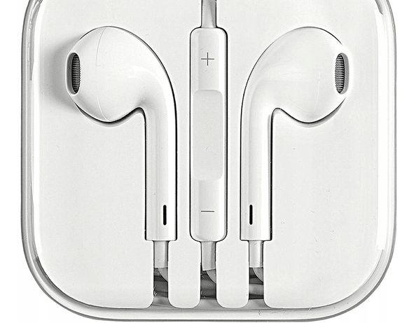 Nowe oryginalne słuchawki Apple Iphone SE 6s 5s earpods zaplombowane