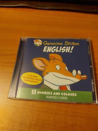 CD Geronimo Stilton Aprender inglês
