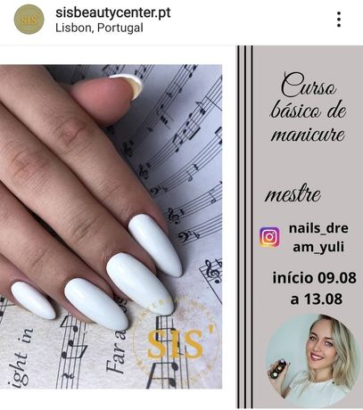 Curso básico de manicure Russa