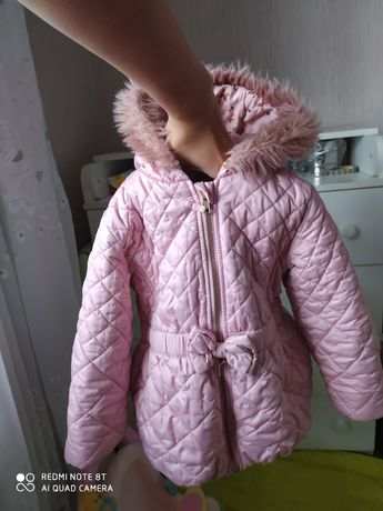 Куртка Next на девочку 3-4 года/курточка Деми осенняя весенняя 98-104р