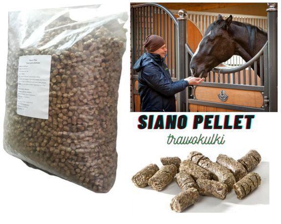 Siano granulowane w pellecie Ekologiczne i wysokowartościowe 20kg