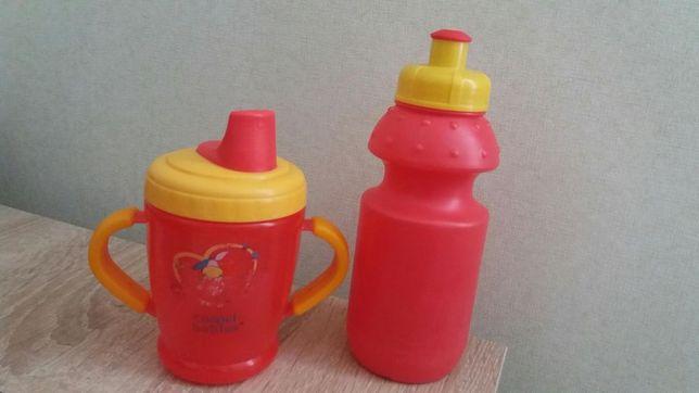Поильник чашка непроливайка бутылочка спорт для питья canpol babies