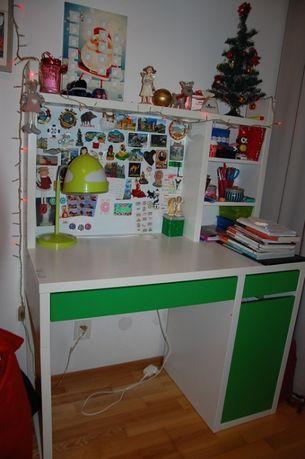 Biurko IKEA + nadstawka