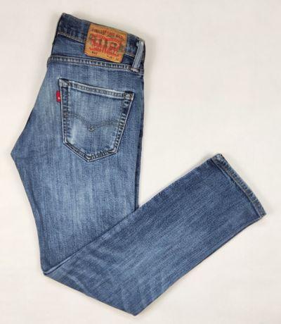 Levi's 511 damskie spodnie jeansowe w rozmiarze W28 L32