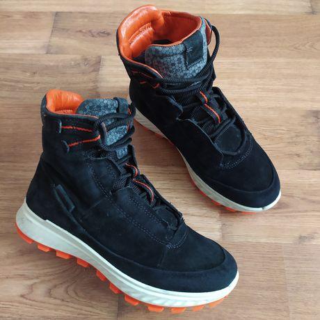 Оригинальные кожаные деми ботинки Ecco р35 по стельке 23.5см.
