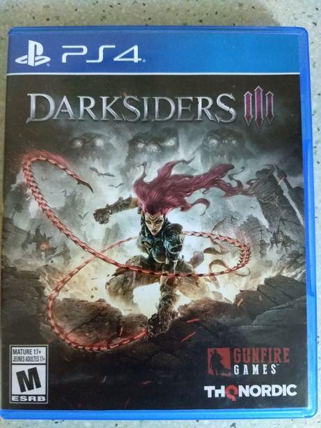 Диск Darksiders 3 (Playstation 4) PS4 Русская версия