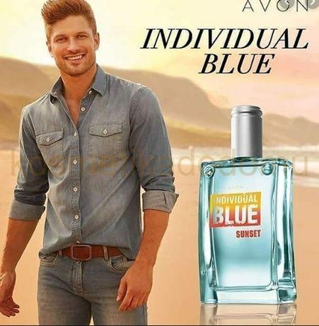 Продам мужскую туалетную воду Individual Blue Sunset AVON-100мл