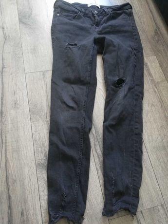 Spodnie szare zara
