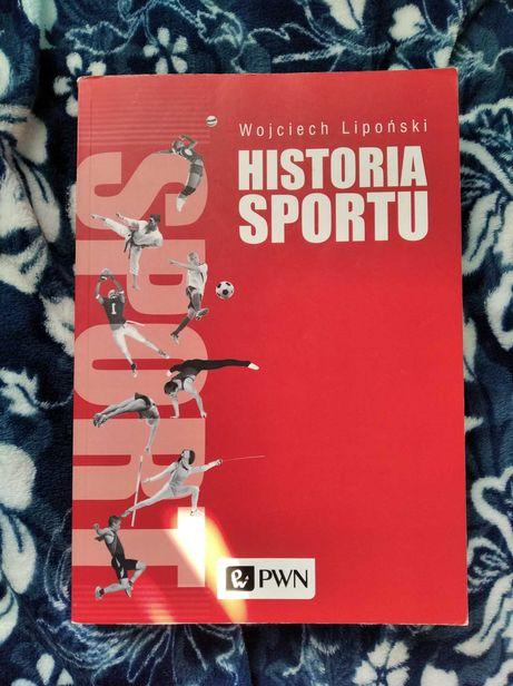 """""""Historia sportu"""" Wojciech Lipoński"""
