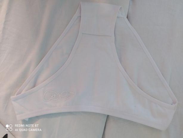 Majtki damskie kolor biały