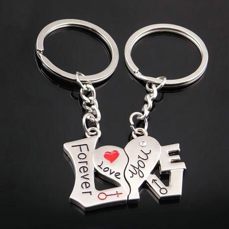 Breloczek dla pary, Walentynki