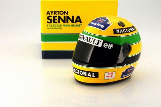 Capacete Ayrton Senna