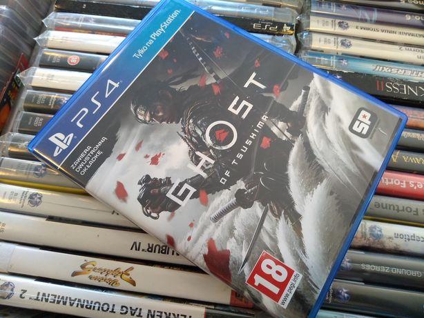 Ghost Of Tsushima pl PS4 możliwość zamiany SKLEP Ursus