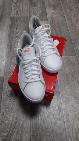 Кросівки PUMA,оригінал,білий колір,38 розмір (24 см).