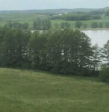DZIAŁKA Z LINIĄ BRZEGOWĄ jezioro Blanki bezpośrednio