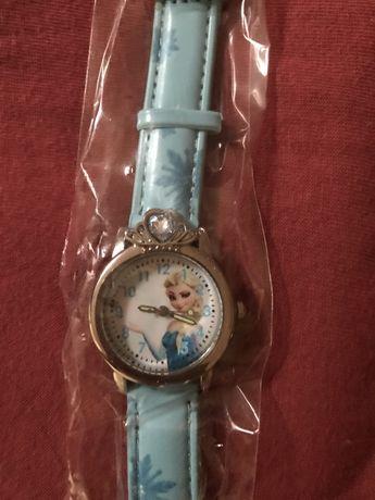 Zegarek dla dzieci dla dziewczynki elsa i anna