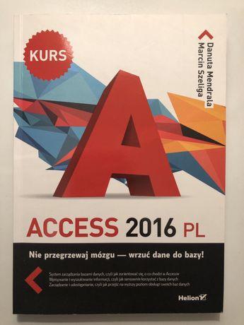 Access 2016 PL. Kurs.