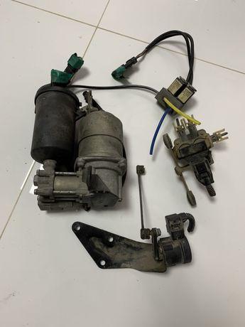 Компрессор Пневмо подвески Блок клапан датчик Mercedes Vito W638