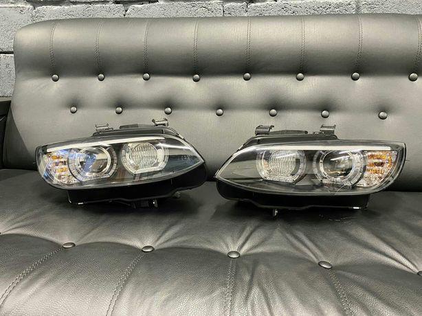 Фары передние BMW E92/E93 черные (LPBMJ5)