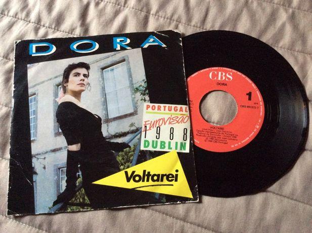 Dora Voltarei Single Eurovisão 1988