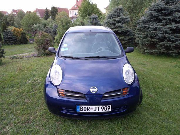 Nissan Micra 1,2 z Niemiec,opłacona,83 tys przebiegu,5 drzwi,2004 rok