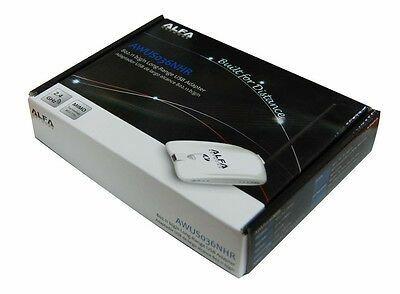 Adaptador wireless USB Alfa AWUS036NHR novo e selado de alto ganho