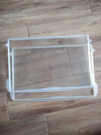 Dwie półki szklane do lodówki 47cmx31 cm