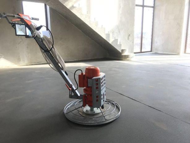 Стяжка підлоги, стяжка пола, машинним нанесенням