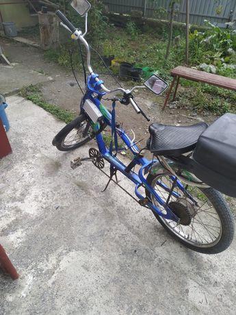Велосипед чоппер електро