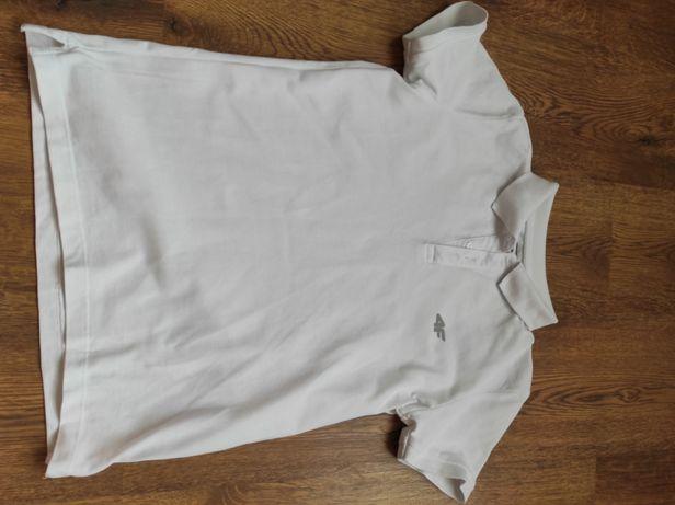 Białą bluzka polo 4F rozm.158