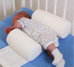 Bezpieczne wałeczki dla niemowląt