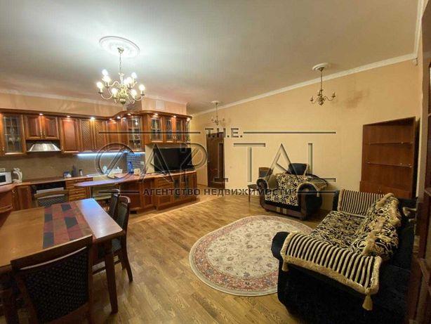 Аренда 3-комнатной квартиры 100 м2 на Печерске