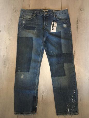 Jeans boyfriend firmy zara rozmiar 42