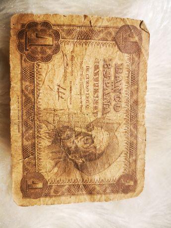 Один Песо. 1951 року. Банк Іспанії