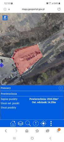 Teren przemysłowy - plac - magazyn - parking - produkcja - składowanie