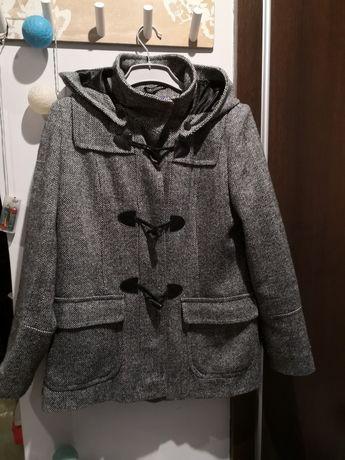 Klasyczny płaszcz Autonomy 10, nieocieplany z domieszką wełny