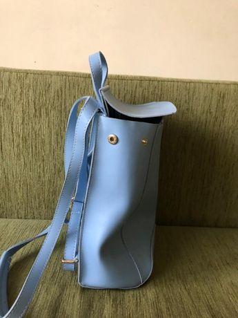 сумка-рюкзачок женская