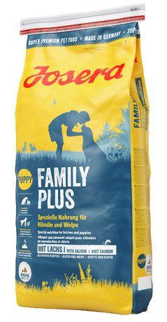 Josera Family Plus 15kg karmy dla odchowu szczeniąt