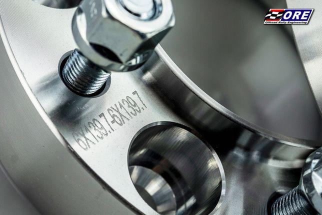 Dystanse kół 6x139,7 gr. 35mm cb 110 NISSAN zmota