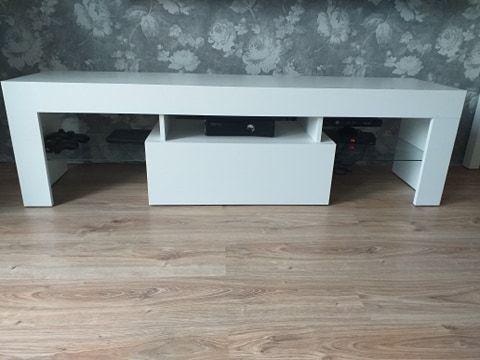 szafka biała pod rtv