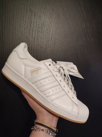 Adidas Superstar White/Gold